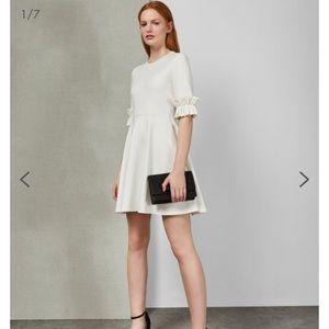 Brand new white ted baker dress